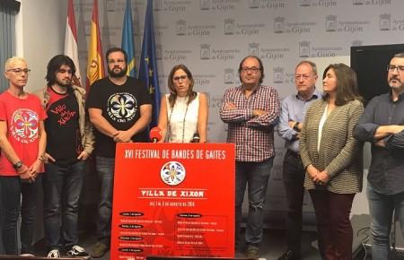 El PSOE reclama el apoyo de FORO al Festival Internacional de Gaitas Villa de Xixón