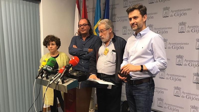 Integrantes PSOE, IU y XSP
