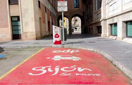 El Pleno aprueba aumentar en Gijón los puntos de recarga para vehículos eléctricos