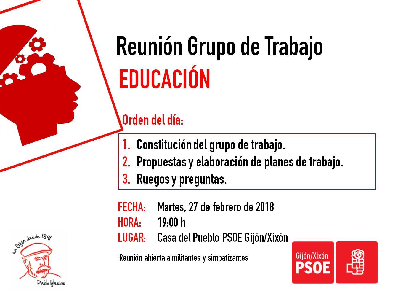180227_Grupo_Trabajo_Educación