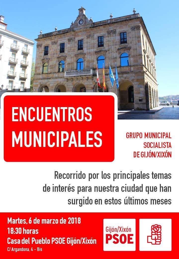 Encuentros municipales psoe gij n agrupaci n municipal socialista de gijon - Pueblos de espana que ofrecen casa y trabajo 2017 ...