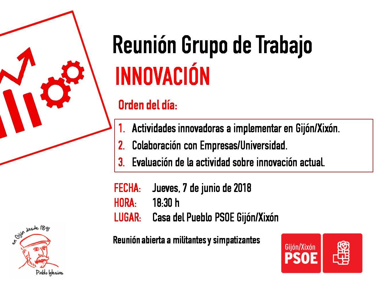 180607_Grupo_Trabajo_Innovación