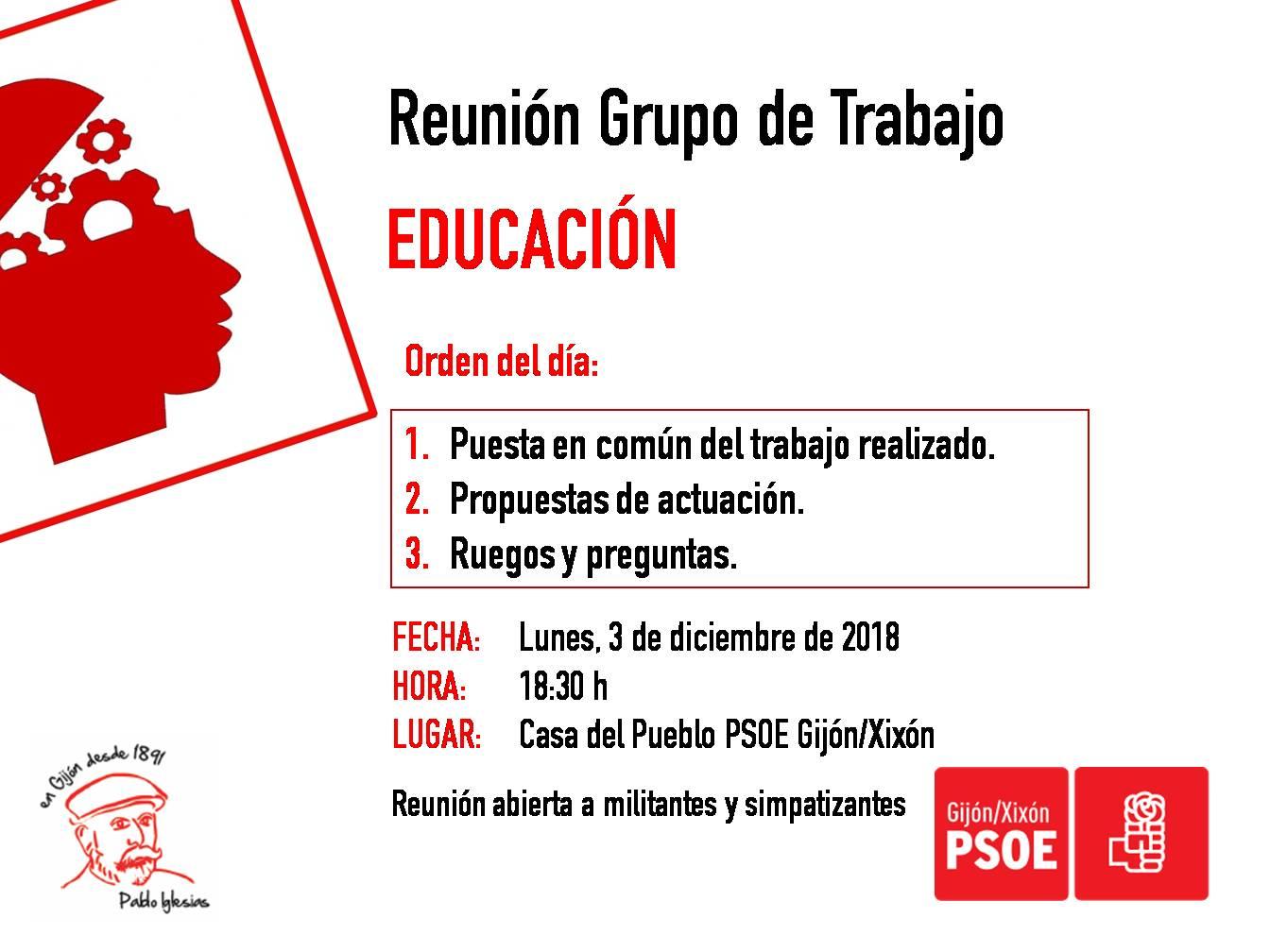 181203_Grupo_Trabajo_Educación