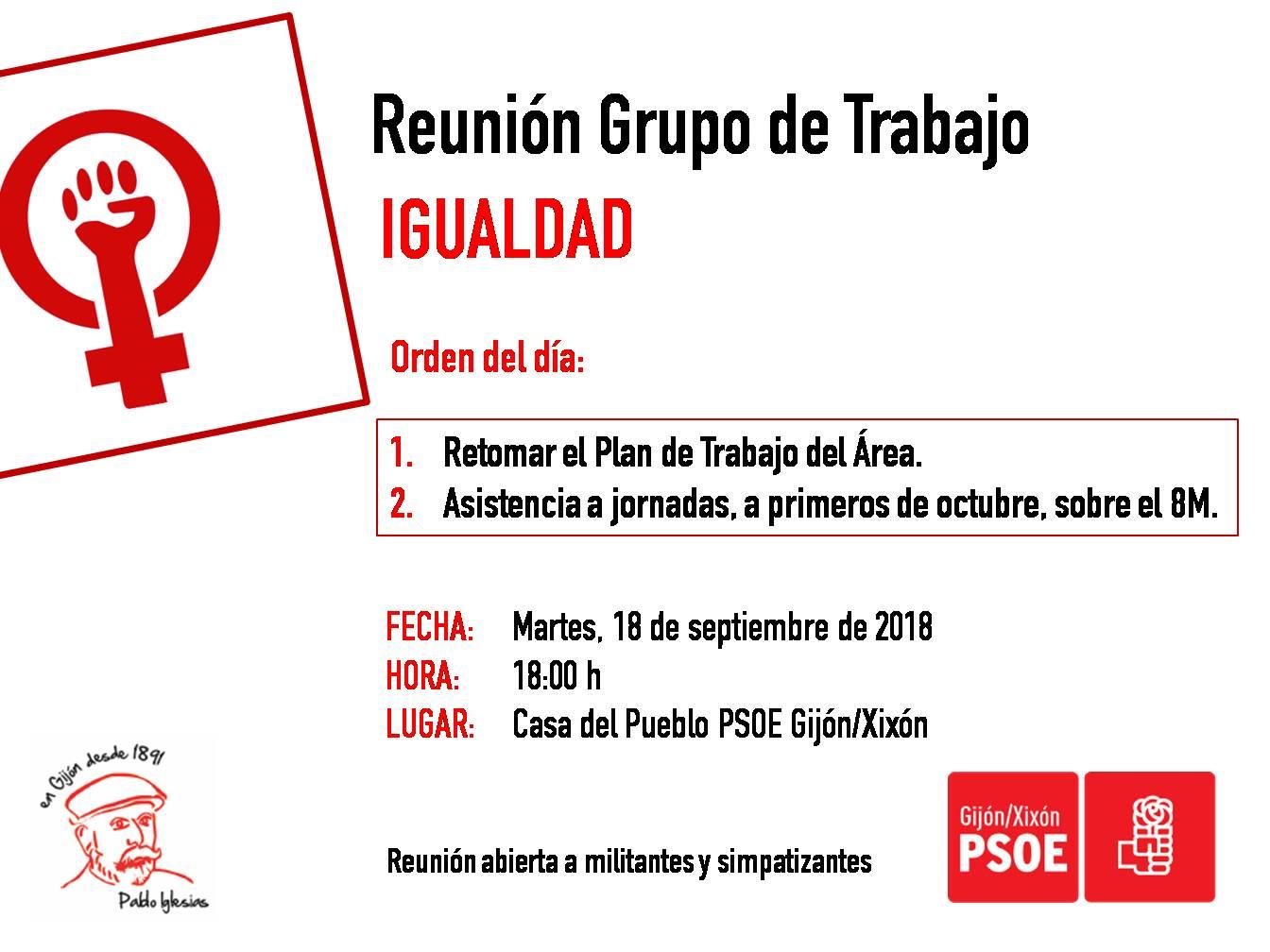 180918_Grupo_Trabajo_Igualdad