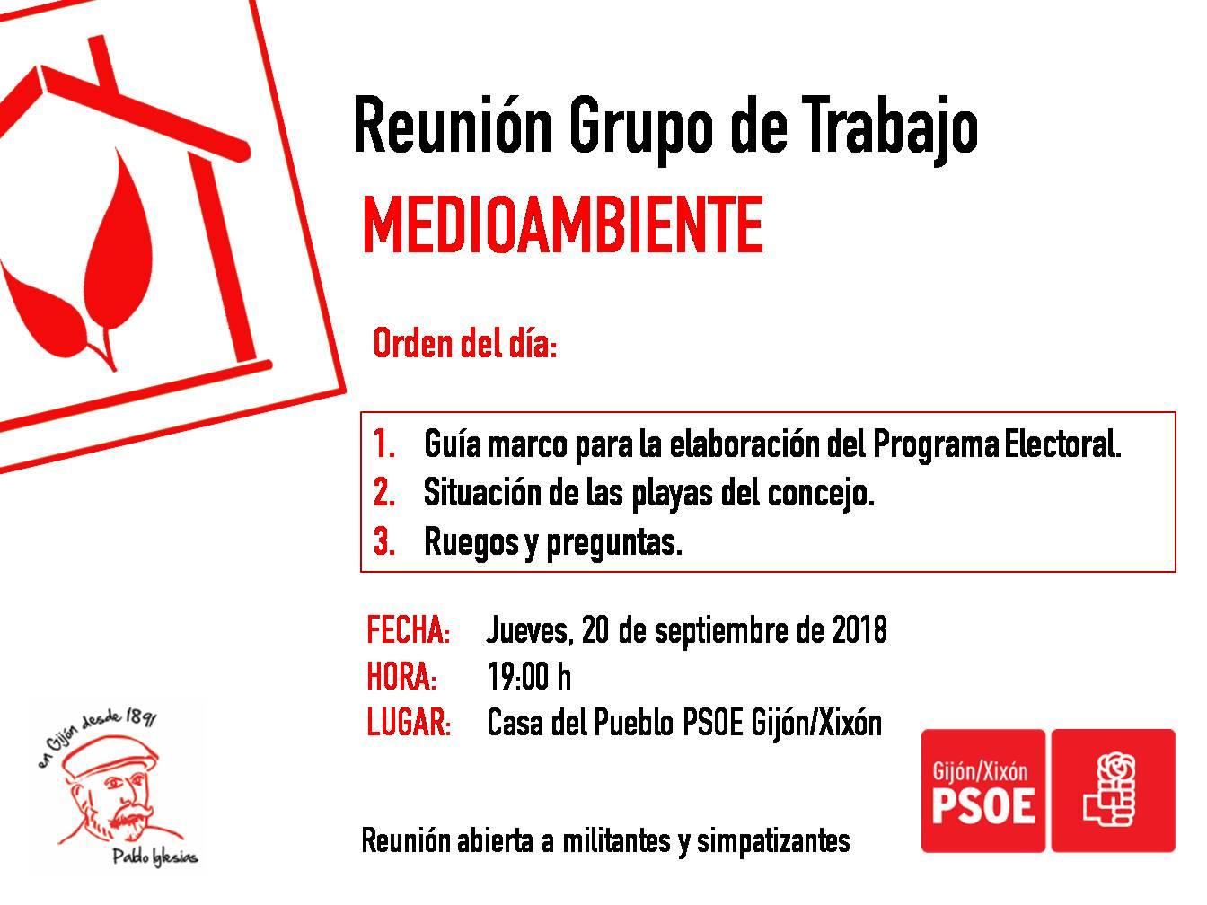 180920_Grupo_Trabajo_Medioambiente