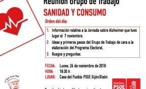 181126_Reunión GT_SanidadyConsumo
