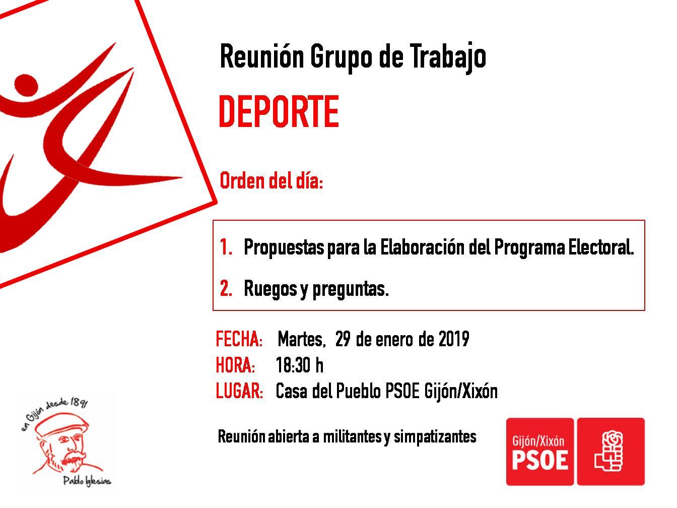 190129_Grupo_Trabajo_Deporte