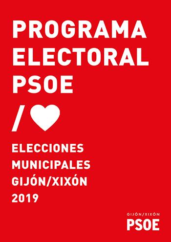 Programa electoral PSOE Gijón / Xixón 2019