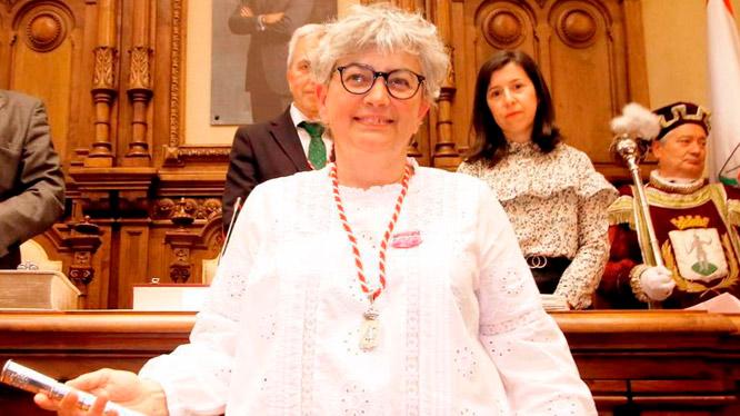 Ana González, alcaldesa de Gijón / Xixón